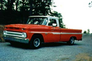 66 Chevy Pickup Truck