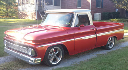 Backyard DIY Guy - 66 Chevy Pickup Restoration Photo Gallery